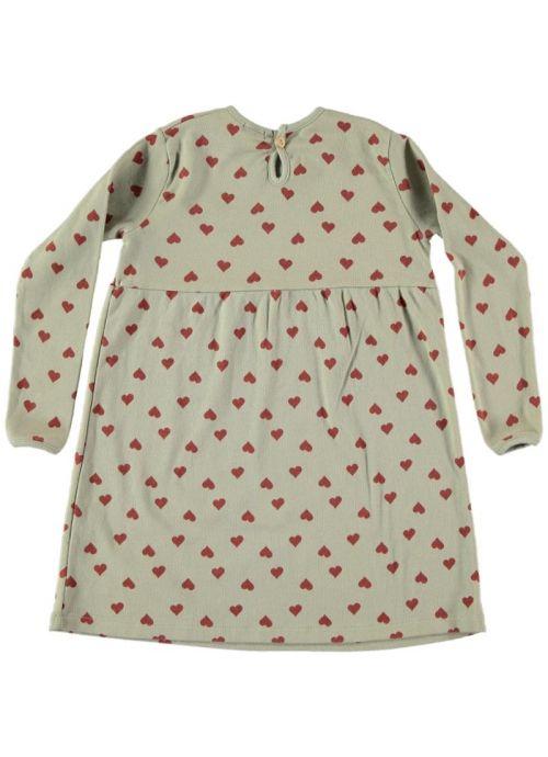 Kid DRESS Girl -95% Organic Cotton 5 Elastan- knitted