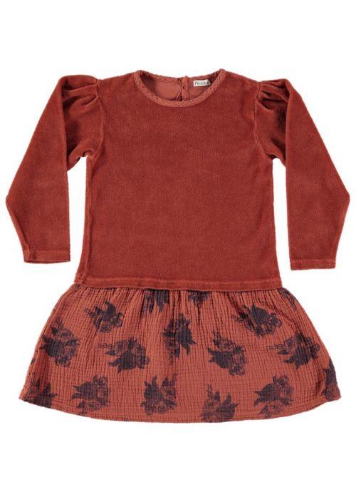 Kid DRESS Girl - 100% Organic Cotton - Kmitted