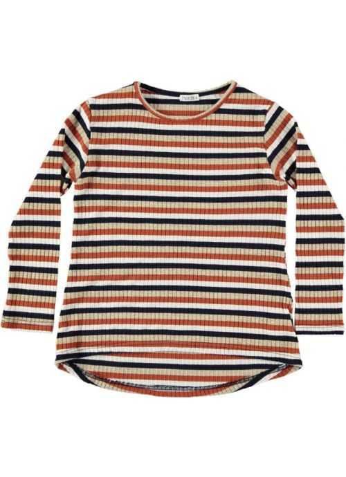 Kid T-Shirt Girl 85% VI 11% Lurex 4% Elastan - knitted