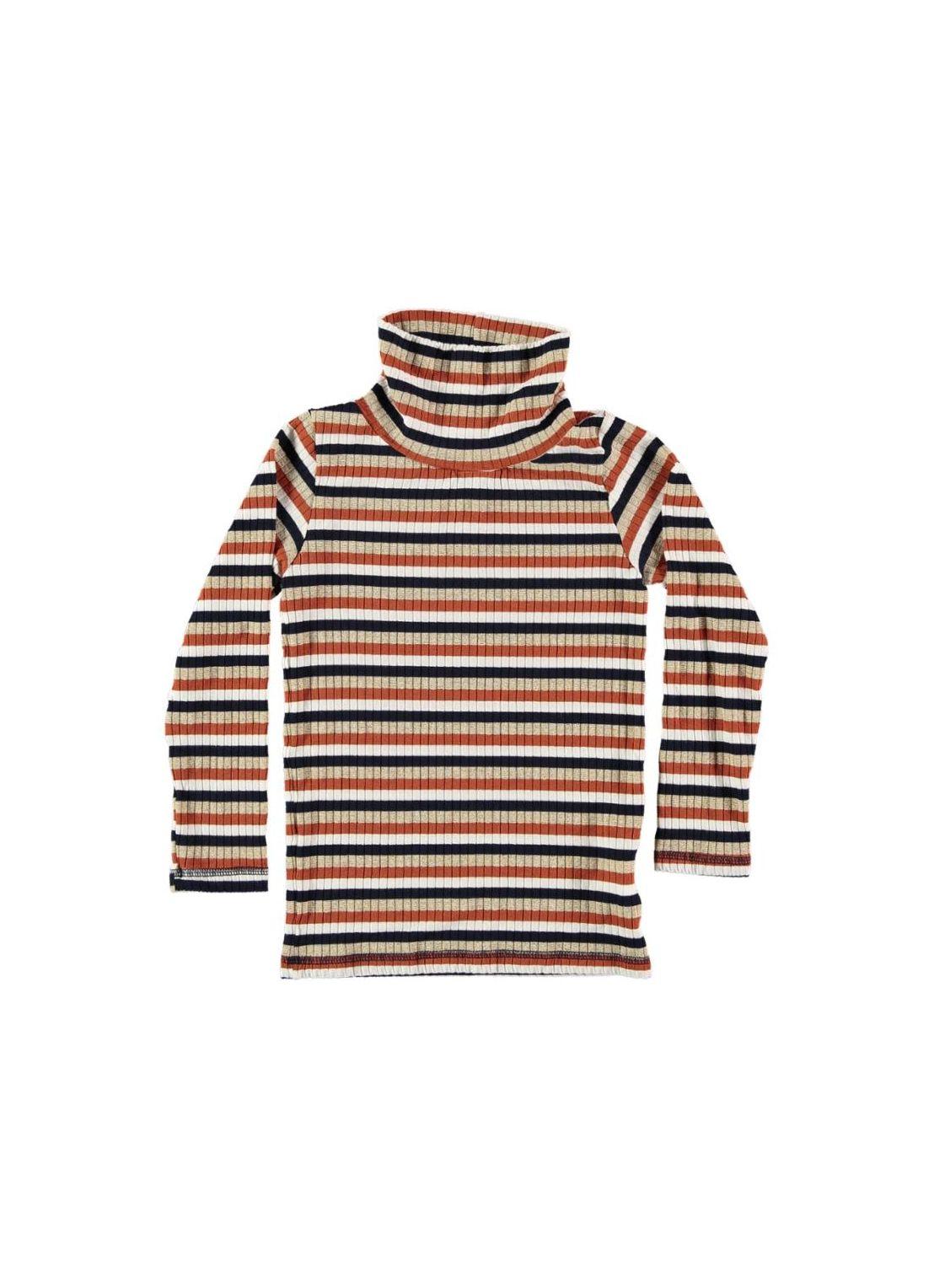 Kid T-Shirt Unisex- 85% VI 11% Lurex 4% Elastan - knitted