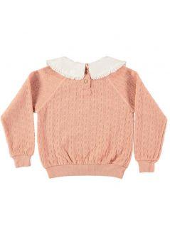 Kid SWEATER Unisex-100% Organic Cotton knitted