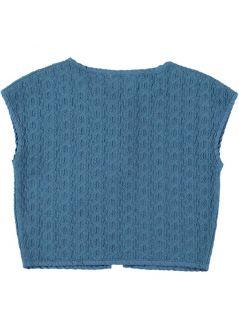 Kids VEST Unisex- 95%Organic Cotton 5% EA- Knitted