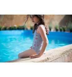 Baby SWIMSUIT Girl-100% Cotton - 5% Elastan